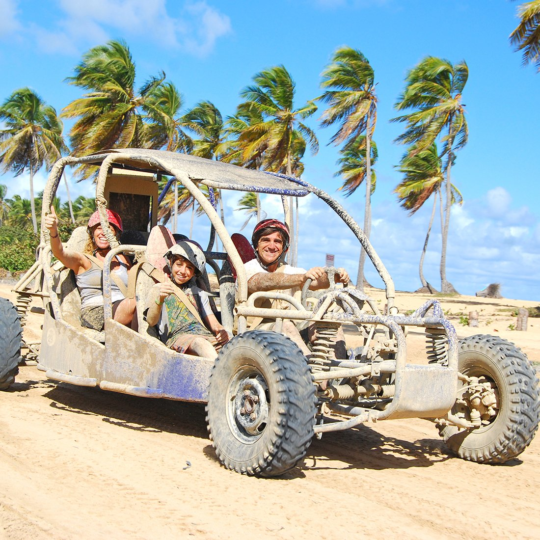 Beach Buggy Tour with Family
